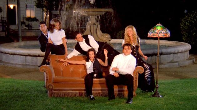 The Friends opening