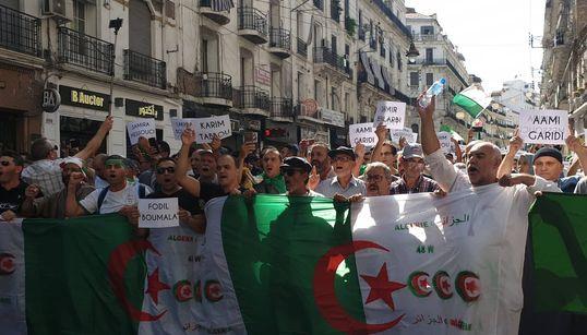 La 34ème manifestation d'Alger en quelques