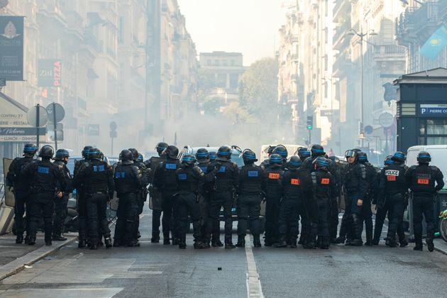 Le capitaine de police Nicolas C. a été arrêté lors de l'Acte 45 des gilets...
