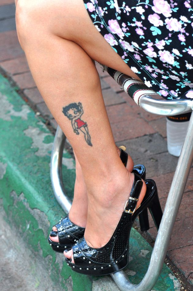 Un tatuaje de Betty