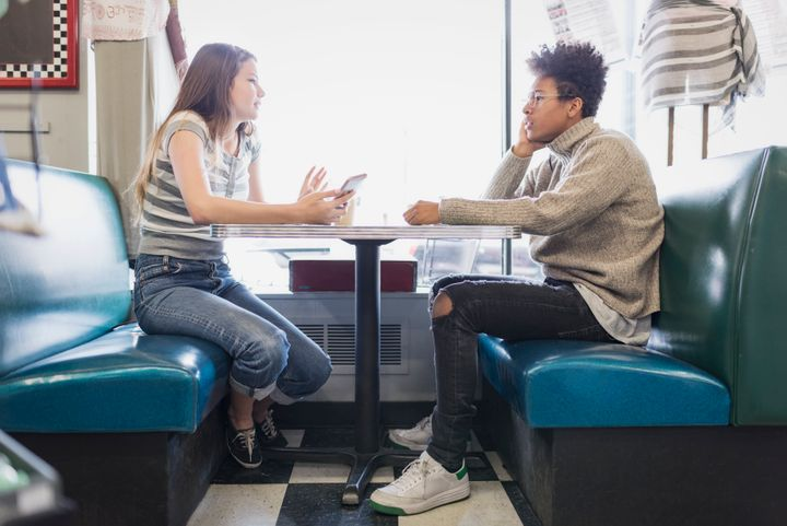 Confiding in a trusted supporter can help a youth process the hurtful comments they hear after a negative coming out experience.