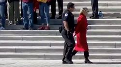 Jane Fonda Arrested At U.S. Capitol During Climate Change