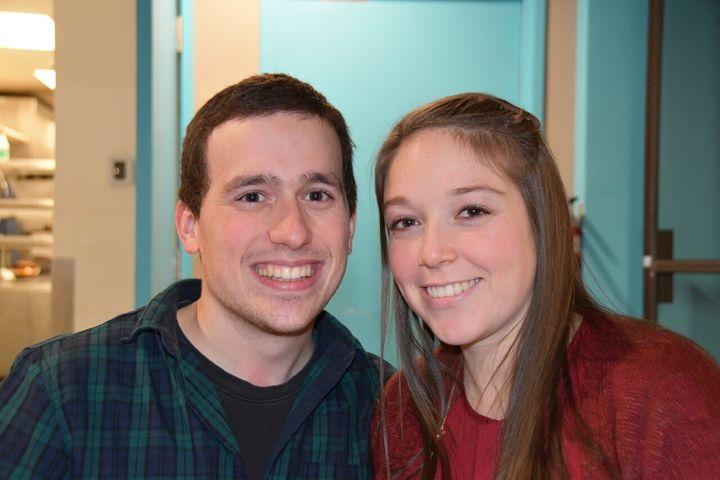 Maryan Roberge et son conjoint Alex Lapierre