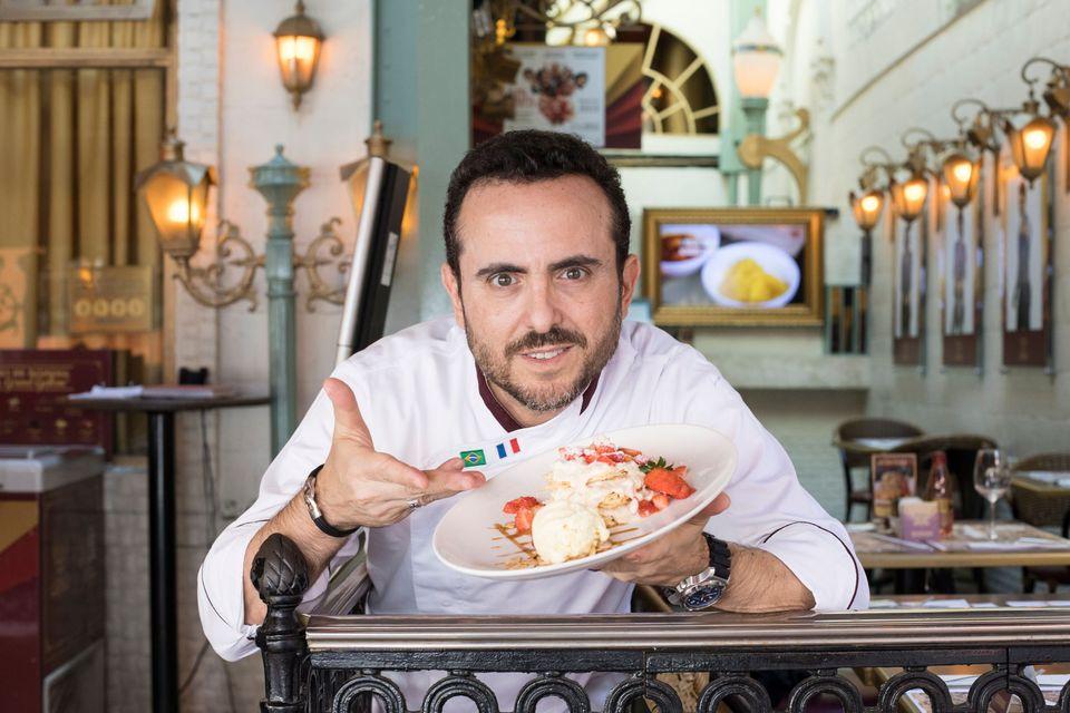 Isaac Azar, 48 anos, conversou sobre como é administrar o império gastronômico do...