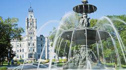 Extinction Rebellion fait «saigner» la fontaine de l'Assemblée