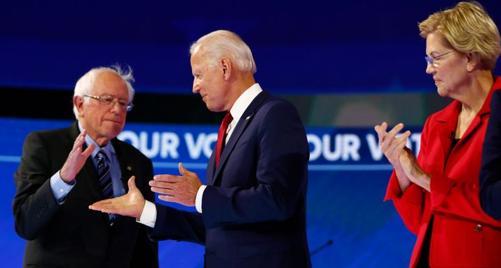 Sen. Bernie Sanders, former Vice President Joe Biden and Sen. Elizabeth Warren all face this question: Will their proposals m