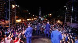 Les partisans de Nabil Karoui et Kais Saied finissent leur campagne électorale à l'Avenue