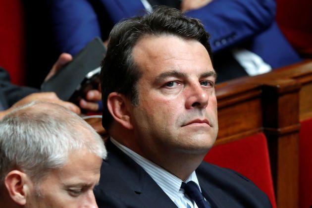 Thierry Solère ici en juillet 2017 à l'Assemblée, a été mis en examen...