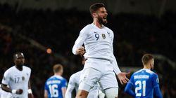Giroud offre la victoire aux Bleus en Islande et les rapproche de
