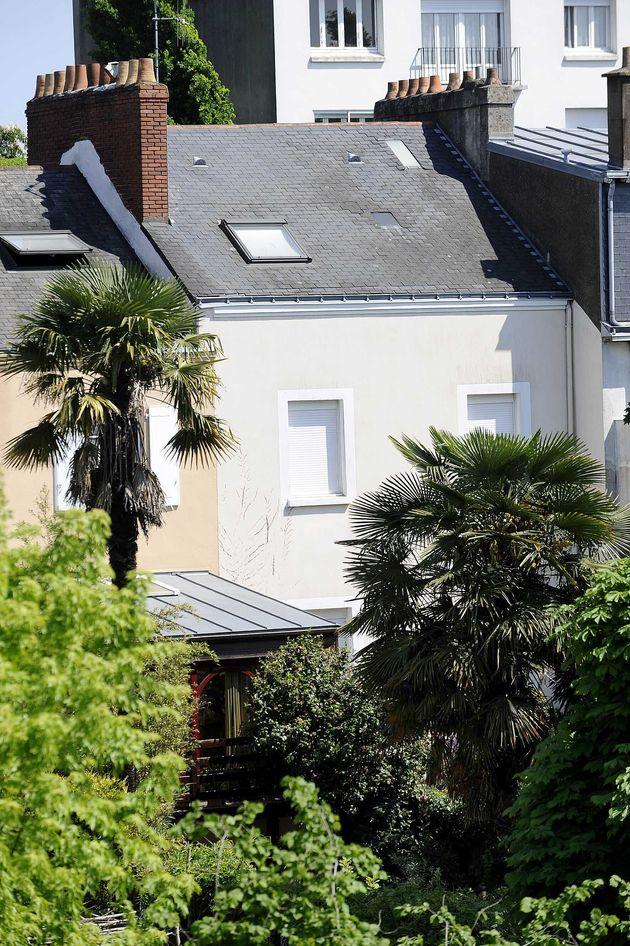 La maison de la famille Dupont de Ligonnès à Nantes, au 55 boulevard Robert Schuman. Photo prise en 2011...