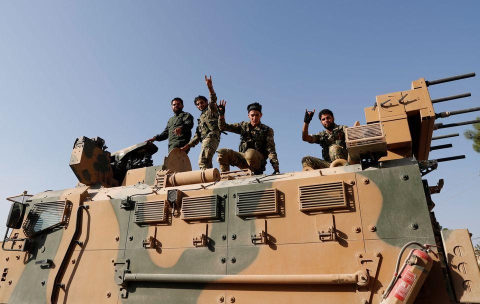 Αντάρτες του Συριακού...