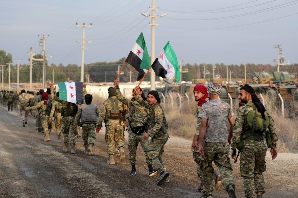 Aντάρτες του συριακού...