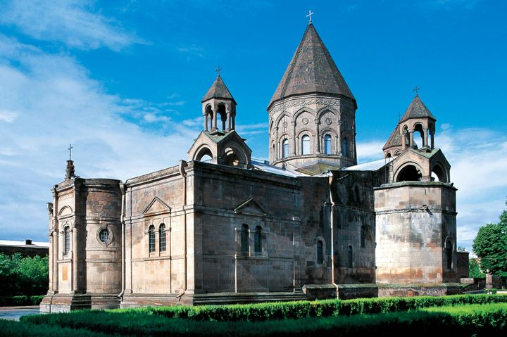 The Mother Cathedral of Holy Etchmiadzin in Armenia.
