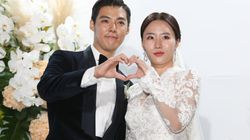 '김연아부터 황광희까지' 강남-이상화 결혼식에 참석한