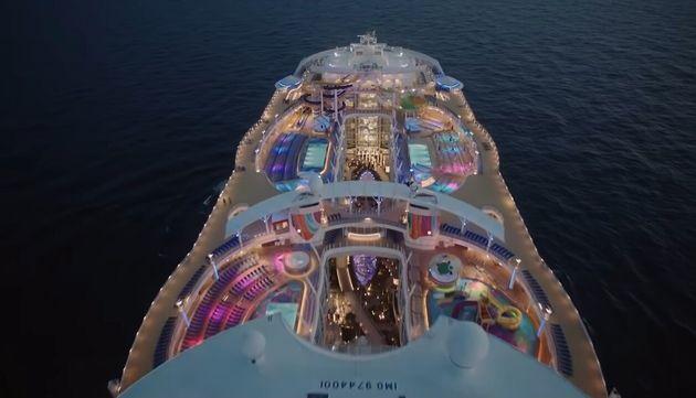Το μεγαλύτερο κρουαζιερόπλοιο στον