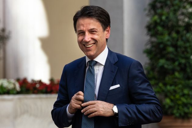 ROME, ITALY - 2019/10/09: The Italian premier, Giuseppe Conte, meets with NATO Secretary General Jens...