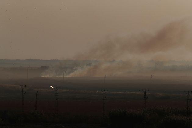 Η Τουρκία συνεχίζει την εισβολή στη βορειοανατολική Συρία, αψηφώντας τις