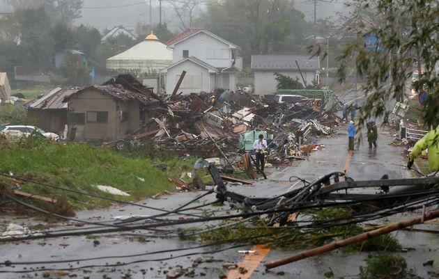 Ιαπωνία: Εκκένωση εκατομμυρίων κατοίκων λόγω του τυφώνα