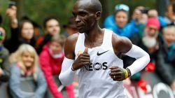 Eliud Kipchoge primo al mondo a correre la maratona sotto le due