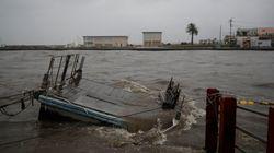 태풍 '하기비스'가 일본을 강타했다. 피해가 잇따르고 있다