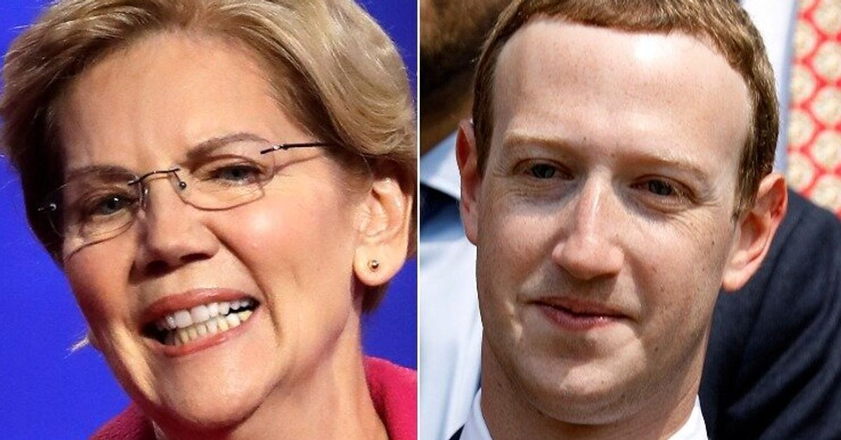 Warren Takes Facebook's Ad Policy, Fires It Right Back At Zuckerberg And Trump thumbnail