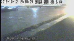 【台風19号】埼玉・都幾川で氾濫発生。気象庁が発表