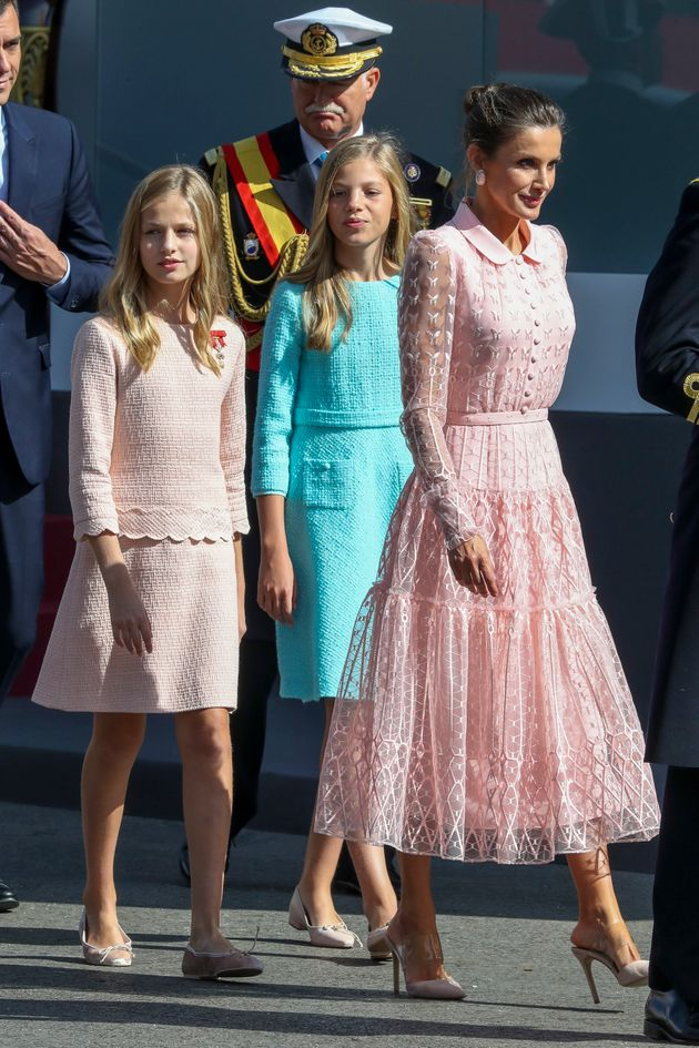 La princesa Leonor y la infanta