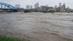 【速報】多摩川が氾濫。東京都世田谷区で大雨特別警報も発令(台風19号)