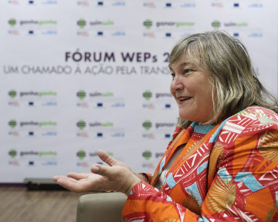 A diretora regional da ONU Mulheres conversou com o HuffPost Brasil durante intervalo do Fórum...