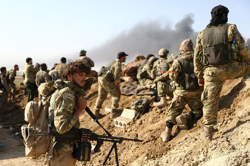 Σπαρακτικές φωτογραφίες από την τέταρτη ημέρα της τουρκικής εισβολής στη βορειοανατολική