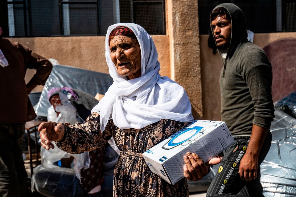 Οι Σύροι που εκτοπίστηκαν...