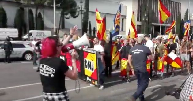 Los problemas de los ultras para organizar una manifestación en