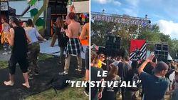 Les images du Teknival en hommage à Steve Maia