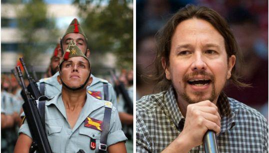 El mensaje de un militar a Pablo Iglesias que remueve conciencias en el Día de la