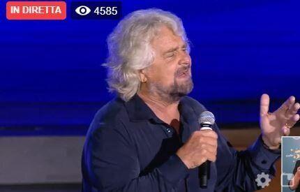 Beppe Grillo |   Diamo la narrazione al Pd e a migliaia di giovani |  è