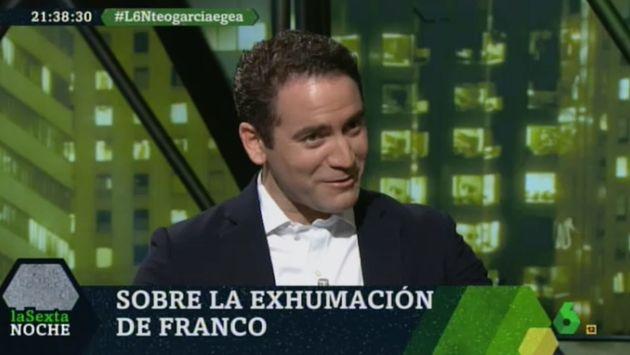 Teodoro García Egea en 'LaSexta