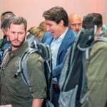 Trudeau Wears Bulletproof Vest At Rally Due To Security