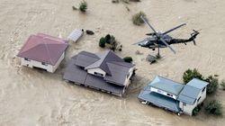 초강력 태풍 하기비스가 일본을 강타했다