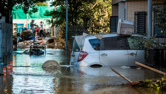 自宅が浸水した時の注意点は?