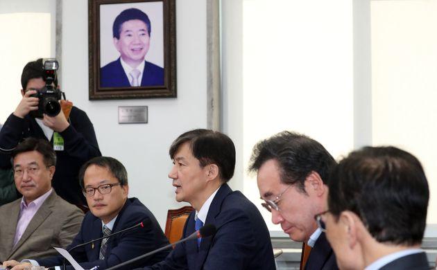 """조국 장관 """"검찰개혁, 무슨 일 있더라도 끝을 봐야 한다"""""""