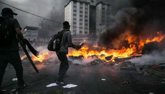 11일째 계속되는 에콰도르 반정부 시위는 왜