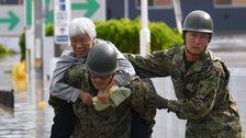 Taifun Hagibis Pummels Japan, Die Tötung Von Mindestens 19