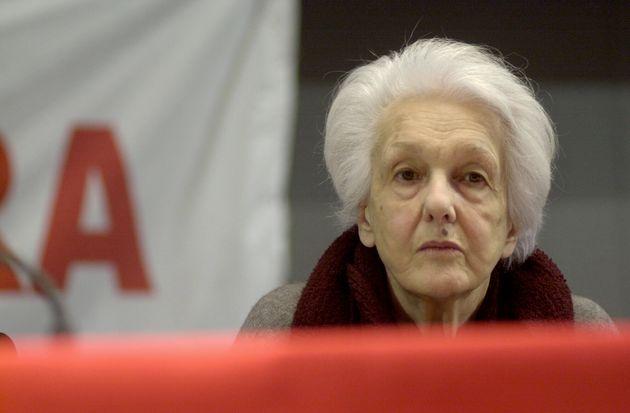 15/01/05 INCONTRO ALLA FIERA DI ROMA PER LA CREAZIONE DELLA ' SINISTRA CHE VERRA'' NELLA FOTO ROSSANA