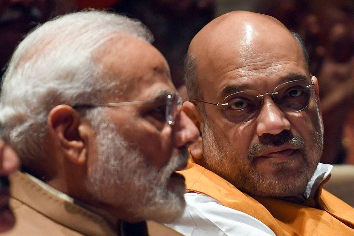 File image of Prime Minister Narendra Modi and Home Minister Amit Shah.