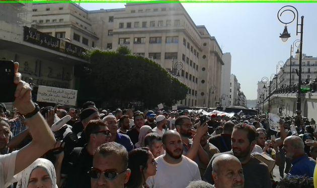 Manifestation contre l'avant projet de loi sur les