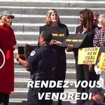 Etats-Unis: Jane Fonda menottée pendant une manifestation pour le