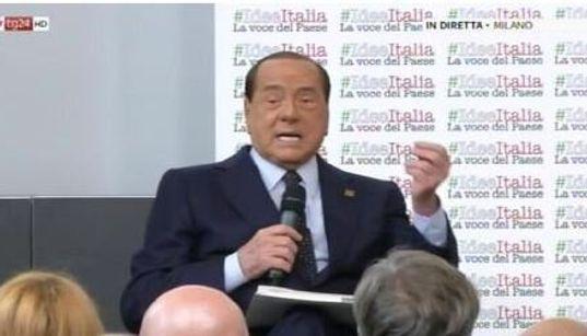 """BERLUSCONI CON SALVINI - """"Il 19 ottobre sarò in piazza a Roma contro il"""