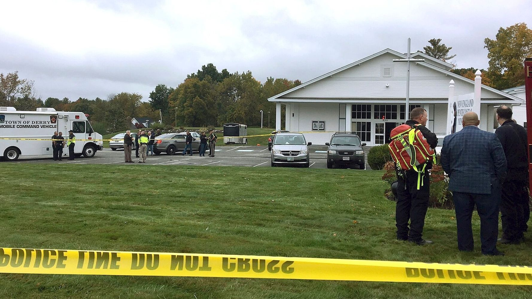 2 People Shot After Gunman Opened Fire During N.H. Church Wedding Service