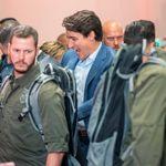 Trudeau a porté un gilet pare-balles lors d'un