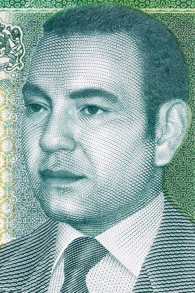 Χαρτονόμισμα με τον βασιλιά...